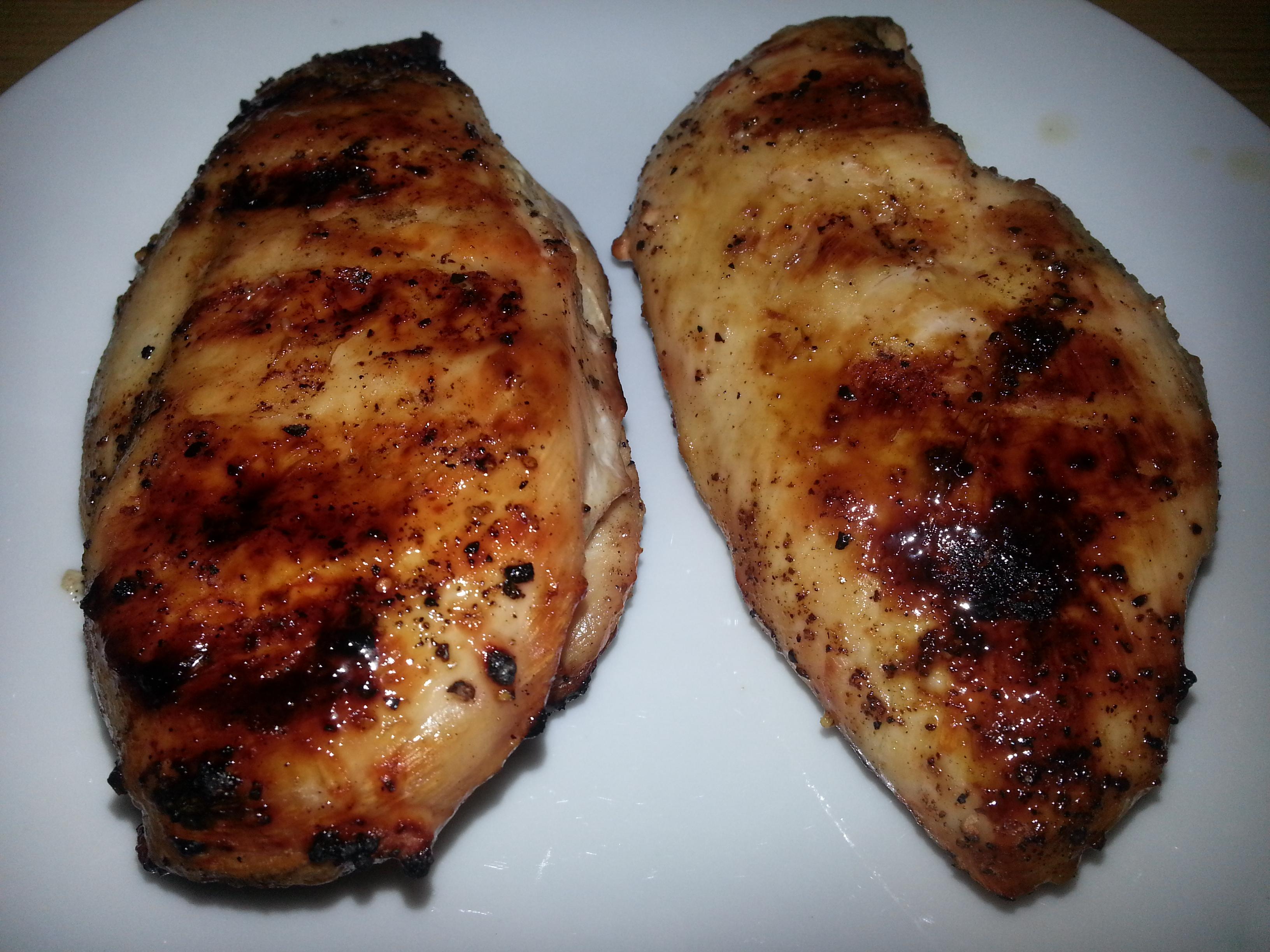Sitrongrillet kyllingfilet