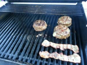 Hamburger med fyll